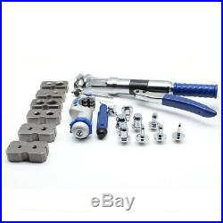 Hydraulic Flaring Tool Set Kit Pipe Fuel Line Expander + Cutter with Case