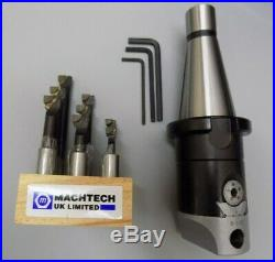 ISO40-DIN2080 Tool Package c/w Drill Set, Facemill Cutter, Tool Stand & Collets