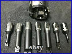 Iscar Etm Bhe Mb50-50x60 Single Cutter Boring Head + Tools Part Set