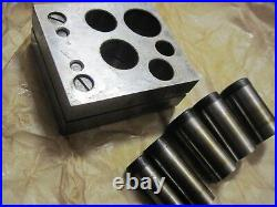 Jewellers Large Disc Cutter Set size from 1/2 up to 1 Jewelry tool