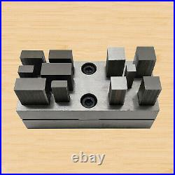 Jewelry Making Disc Cutter Cutting Set Base Puncher Jeweler Tool Rectangle