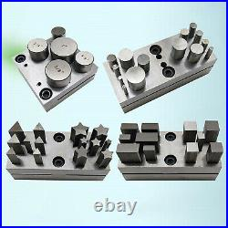 Jewelry Making Disc Cutter Cutting Set Puncher Jeweler Tool Silver New
