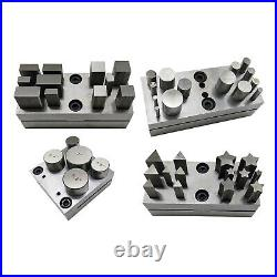 Jewelry Making Disc Cutter Set Base Puncher Punching Jeweler Tools Silver, Base