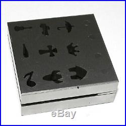 Jewelry Tool Disc Cutter Different unique Shape design 9 Pieces Set ATDD1