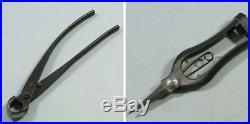 KANESHIN Bonsai Tool 8 Items 1 Set No. 177 Cutter Scissors Pliers Tweezers JAPAN
