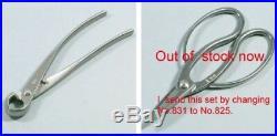 KANESHIN Bonsai Tool 8 Pcs Set Stainless No. 177A Cutter Scissors Pliers Tweezers