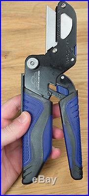 KOBALT 2 Pc TRIPLE CUT 3-IN-1 Multifunction CUTTER, SHEARS, UTILITY KNIFE, SAW SET