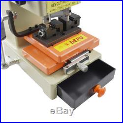 Key Laser Copy Duplicating Machine With Full Cutters Locksmith Tools Set DF368A