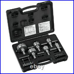 Klein Tools 31873 8-Pc Master Electrician Hole Cutter Set New