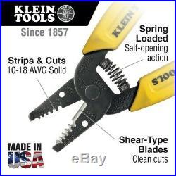 Klein Tools 6 Piece Set with 2 Pliers, Wire Stripper-Cutter, 2 Screwdrivers, volt