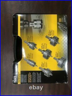 Klein Tools 8-peice Master Electricians Carbide Hole Cutter Set
