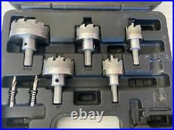 Klein Tools Hole Cutter Kit Master Electricians Cuts Quick Pilot Bits