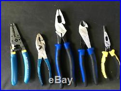 Klein Tools Pliers And Cutters Set of 5 Pieces