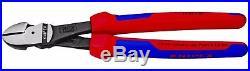Knipex 10 Cobra Pliers Wrench & Diagonal Cutter Set w Comfort Grip Handles