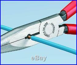 Knipex 4pc Pliers Set Cobra, Cutter, Long Nose, Combination 9K008094 Plier
