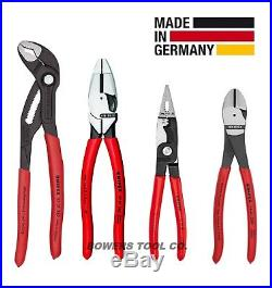 Knipex Electrician's Pliers Set Lineman's Alligator Diagonal Cutter Installation