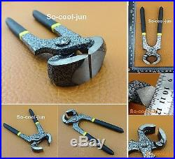 LEATHER CRAFT WORK COBBLER'S TOOL SET KIT Multi Pliers Skiving Awl Punch Cutter