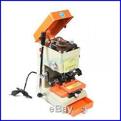Laser Key Copy Duplicating Machine With Full Set Cutters Locksmith Tools DeFu 998C