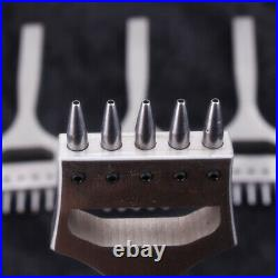 Leather Craft Watch Band strap Hole Punch Tools Stitching Prong Eyelet Cutter