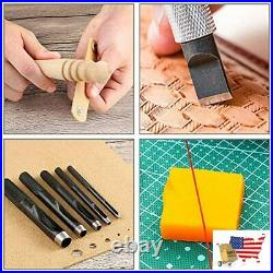 Leather Working Tool Set 509 Pieces With An Instructions Punch Cutter Tools