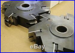 MTI CARBIDE Coping Machine INSERT TOOLING CUTTER HEAD SET 6536-1 PROFILE CUTTER