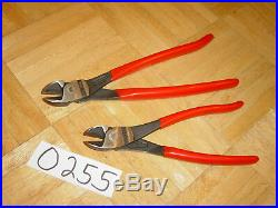 Mac Tools 2 Piece Knipex Bent High Leverage Cutters 8 & 10 Inch