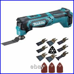Makita TM30DZ 10.8V CXT Multi Tool Cutter with 39 Piece Accessories Set