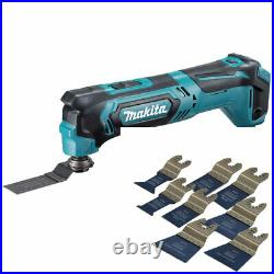 Makita TM30DZ 10.8V CXT Multi Tool Cutter with 8 Piece Accessories Set
