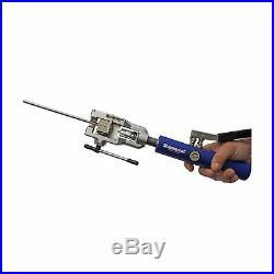 Mastercool 72475PRC Hydraulic Flaring Tool Set Universal Tube Cutter Blue Silver