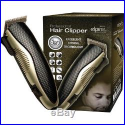 Men Professional 8in1 Electric Hair Clipper Beard Trimmer Cutter Shaver Tool Set