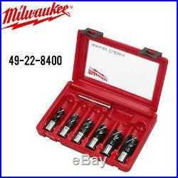 Milwauke 49-22-8400 6PC Annular Cutter Set withFull Warranty