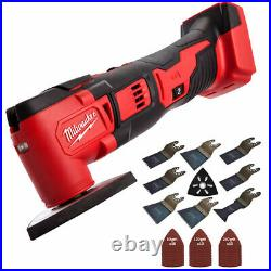 Milwaukee M18BMT-0 M18 18V Compact Multi Tool Cutter + 39 Piece Accessories Set
