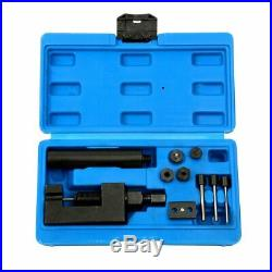 Motorcycle Cam Drive Chain Breaker Set Cutter Rivet Tool 520/525/530/630 Pitch