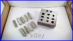 Multi shape jewelry disc cutter set of 9 jewellery tool Free shipping