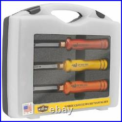 NEW! Easy Wood Tools 3-Piece Carbide Micro Turning Set with Bonus Cutter #12021