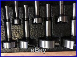 NEW FISCH Wave Cutter Forstner Bit Set, 15 of 16 piece (1-3/4 missing)