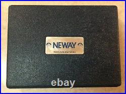 NEWAY 102 Valve Seat Cutter SET Tool Kit 31 46 with Pilots One Owner