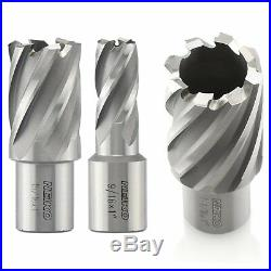 Neiko 10249A Premium Annular Cutter, M2 Cobalt HSS 6-Piece Set 9/16 to