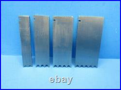 Nice set of 4 Record 405 reeding 1/4 cutters blades irons fit Stanley 45 plane