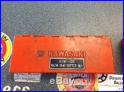 OEM Kawasaki Tools Valve Seat Cutter Set 57001-128 Vintage KZ Z1