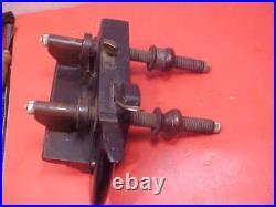 Ohio Tool Co. Plow Plane Blackwood And Bone Set Of Cutters