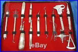 Orthodontic Instruments Set Kit Professional Dental Dentist Pliers, Cutter Tools