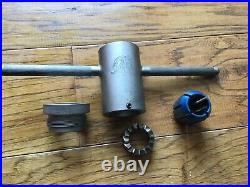 Park Tool CRC-1 Crown Race Cutter Set Professional Quality Machining Tool -1 1/8