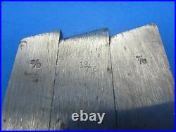 Parts set of 10 skew cutters blades irons for Stanley 46 wood plane incl 13/16