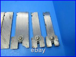 Parts set of 21 irons blades cutters for Sargent 1080 wood plane incl 3/4 bead