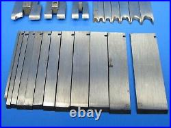 Parts set of 22 cutters irons blades for Stanley 45 wood plane plow bead sash