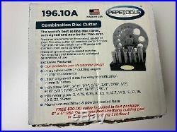 Pepetools Premium Disc Cutting Cutter Set 196.10a Dapping Silver, Gold, Pepe Tool