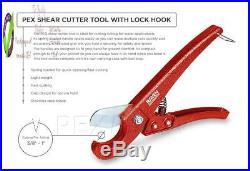 Pexflow Pxkt10012 Starter Kit For 1/2-In Pex With Crimper Cutter Tools Set I