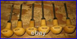 Pfeil Swiss Made Set of 6 Block Cutters Palm Carving Tools