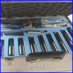 QualityR8-3 3 Boring Head Milling Cutter Set 12pcs Indexable Boring Bar Tool